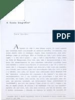 BOURDIEU, Pierre. A ilusão biográfica