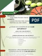 Clubes Ligas y Federaciones