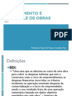 Concreto Protendido 1 - Calculo de BDI