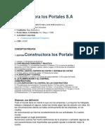 constructora los portales administracion