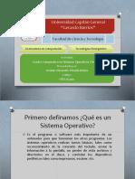 Sistemas Operativos Ventajas y Requerimientos