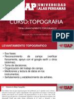 TERCERA CLASE TOPOGRAFÍA UAP