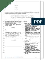 Third Draft of Banditos Complaint - Attorney Vincent Miller