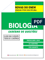 Caderno de Questões Biologia ENEM