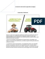 Impacto de La Revolución Verde Sobre La Agricultura Ecológica