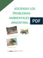 Conociendo Los Problemas Ambientales de Argentina