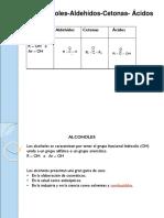 Aldehido Alcoholes y Cetonas Salle 2018-1