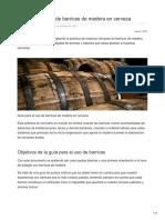Thebeertimes.com-Guía Para El Uso de Barricas de Madera en Cerveza