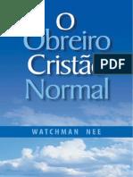 O obreiro Cristão normal - Watchman Nee.pdf