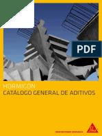 Hormigon Catalogo General Aditivos