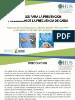 Resumen Paquete Instruccional- Prevención y Reducción de La Frecuencia de Caída
