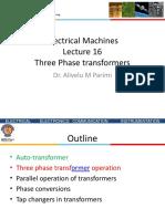 Three-phase Transformers