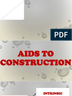 Aids to Construction