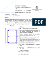 Diseño de viga hiperestática a torsión