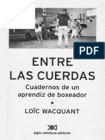 Wacquant Entre Las Cuerdas