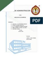 393729363 Analisis de Empresa Docx