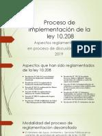 Ley 10208 - Reglamentaciones