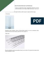 Alat Ukur Volume Di Laboratorium Dan Cara Membacanya