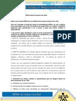 EVIDENCIA 1 Matriz DOFA sobre Proyecto 1.docx