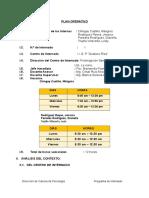 Plan Operativo Gustavo Ries