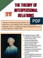 Peplau - Nurse-Patient Relationship Theory
