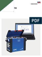 Cpc 100 Ptm User Manual Enu