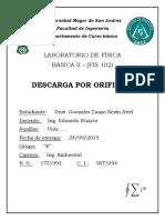 Informe Orificios Fis II