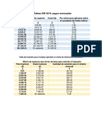 Tablas Isr y Subsidio Actualizadas
