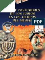 Usos y Costumbres de Los Judíos en Los Tiempos Del Mesías PDF de Alfred Edersheim