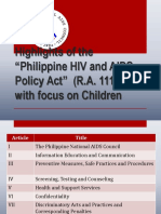 Highlights of RA 11166_with_relation to Children