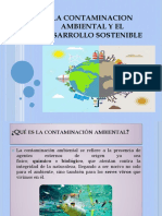 La Contaminacion Ambiental y El Desarrollo Sostenible
