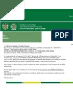 Antecedentes Policia y Procuraduria