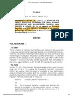 Pichay Jr. v. Office of the Deputy Executive Secretary of Legal Affairs