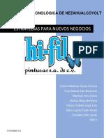 Hi Fil Pinturas s.a. de c.v. Matrices de Mercado