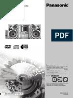 Panasonic SA VK62D Instruction Manual