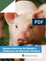 Buenas Prácticas de Manejo y Utilizacion de Efluentes Porcinos (Chanchito Lindo)