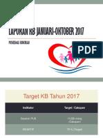 Laporan Kb Januari-okt 2017