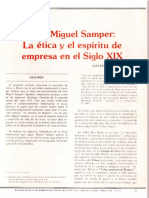 Miguel Samper la ética y el espíritu de empresa en el Siglo XIX