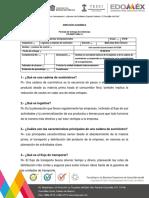 Cuestionario Logística y Cadenas de Suministro