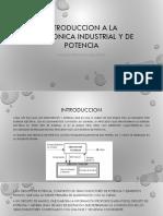 Introduccion a La Electronica Industrial y de Potencia