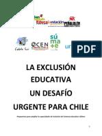 La exclusion educativa, desafio urgente para Chile.pdf