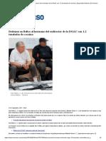 01 Detienen en Belice Al Hermano Del Exdirector de La DGAC Con 1.2 Toneladas de Cocaína _ Seguridad _ Noticias _ El Universo