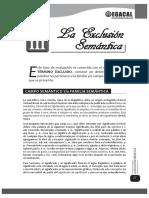 3 Exclusion Semántica