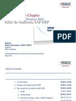 Taller Auditoría SAP ERP - Marzo 2014.pdf
