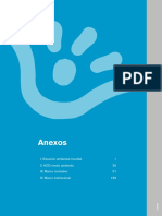 Medioambiente y Sostenibilidad Ambiental Anexos