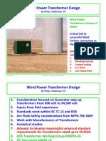 Wind Power Design