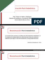 Reconstrucción Postendodontica
