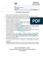 Fromulário MAPA