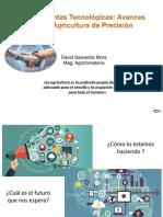 Aplicaciones tecnológicas para la agricultura David Saavedra-Mora 2019