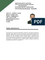 Hoja de Vida Jossep Paolo Ruiz Cassaleth